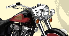 Indian Motorcycle site screenshot